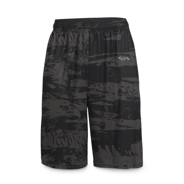 Men's USA Revolution INK Basketball Shorts
