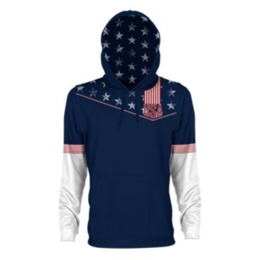 Men's USA Stars & Stripes INK Hoodie