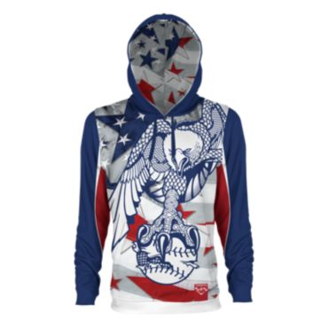 Men's USA Bald Eagle INK Hoodie