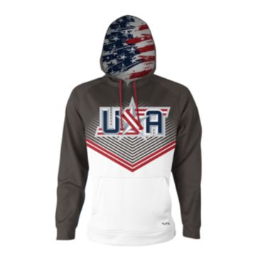 Men's USA Border Battle INK Hoodie