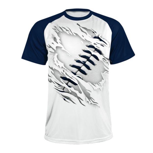 Men's Ball Game Short Sleeve Shirt