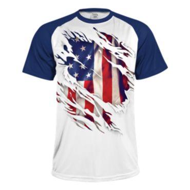 Men's USA True Colors INK Short Sleeve Shirt