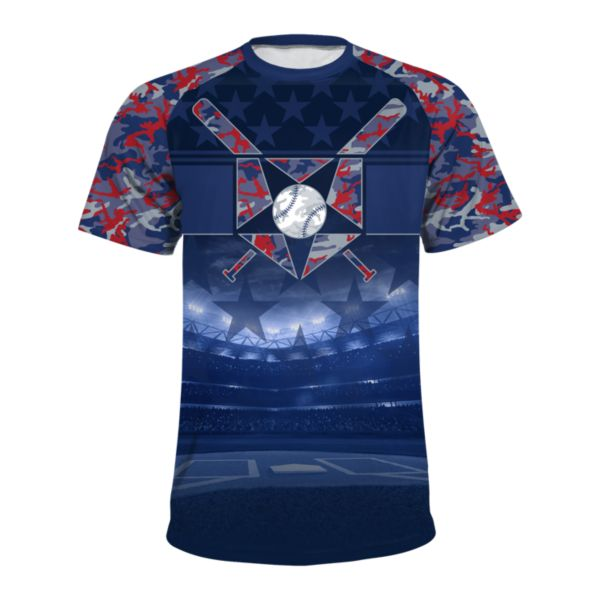 Men's USA All Star INK Short Sleeve Shirt