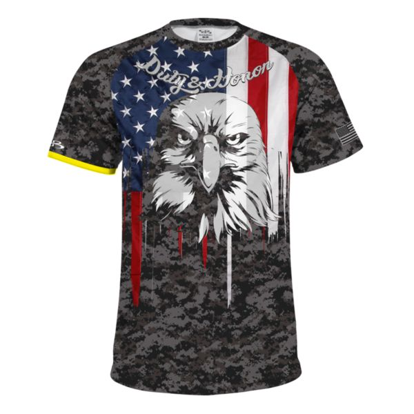 Men's USA Eagle INK Short Sleeve Shirt
