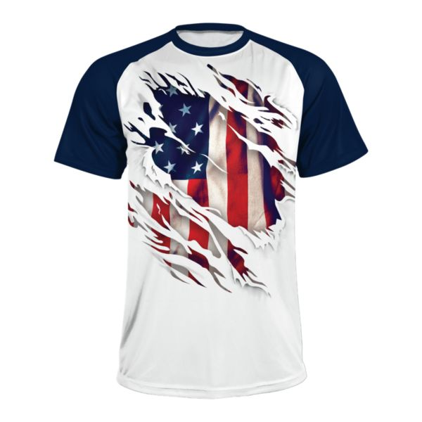 Men's USA True Colors INK Short Sleeve Shirt