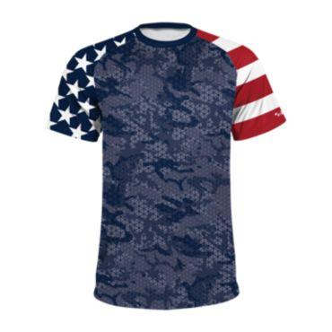 Men's USA Camo On INK Short Sleeve Shirt