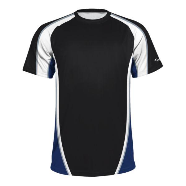 Boombah INK Men's Speed T-Shirt Black/White/Royal Blue