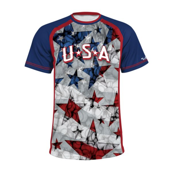 Men's USA INK Stars & Stitches T-Shirt