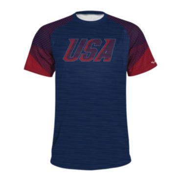 Men's USA Short Sleeve Shirt 3021