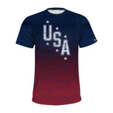 Men's USA Short Sleeve Shirt 3022