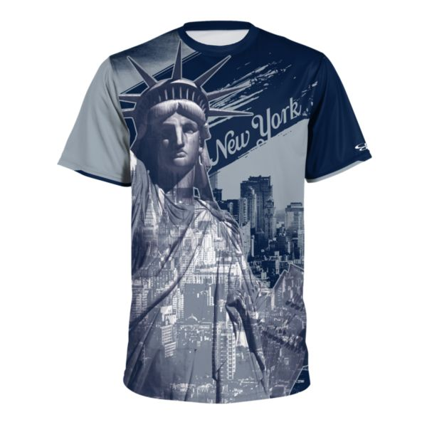 Men's New York Short Sleeve Shirt