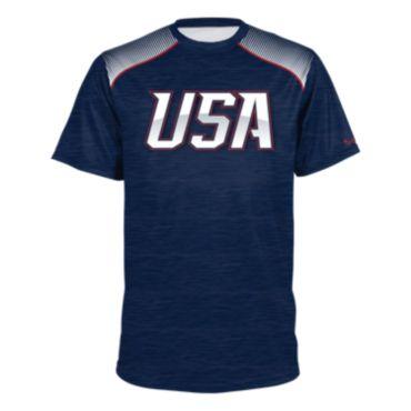 Men's USA Short Sleeve Shirt 3013