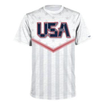Men's USA Short Sleeve Shirt 3015
