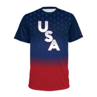 Men's USA Short Sleeve Shirt 3016