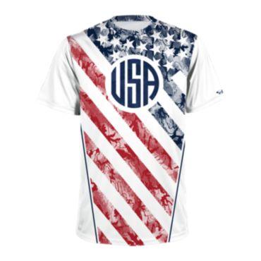 Men's USA Short Sleeve Shirt 3017
