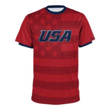 Men's USA Short Sleeve Shirt 3018