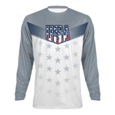Men's USA Salute INK Long Sleeve Shirt