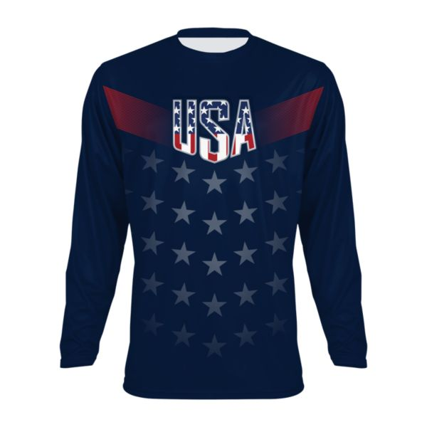 Men's USA Salute INK Long Sleeve Shirt