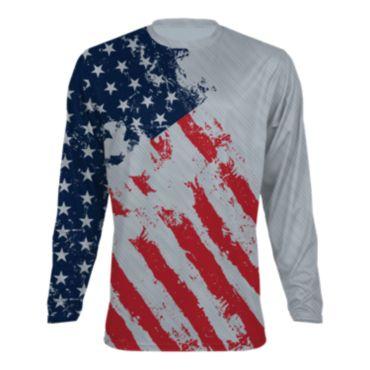 Men's USA Long Sleeve Shirt 3010