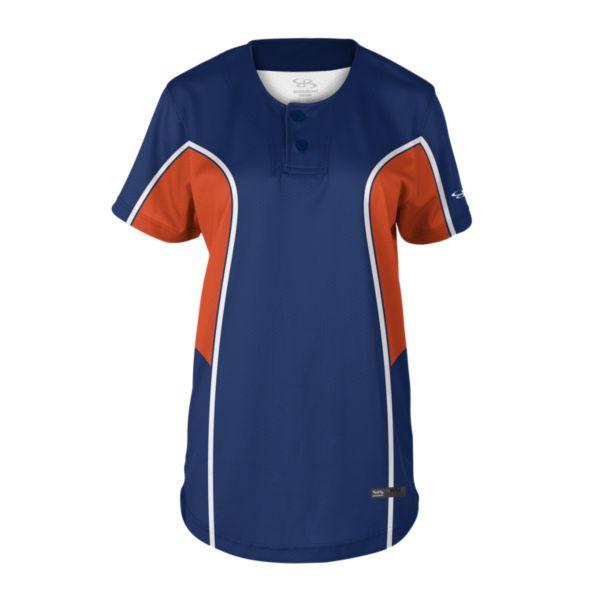 Women's Liner 2-Button Fastpitch Jersey