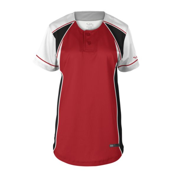 Women's Double Play 2-Button Fastpitch Jersey