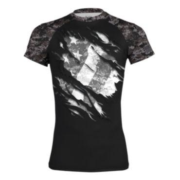 Boombah INK Men's Flag USA Short Sleeve Compression Shirt