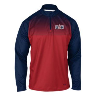 Men's USA Speed Quarter Zip Pullover