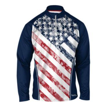Men's USA INK Quarter Zip Pullover 3003