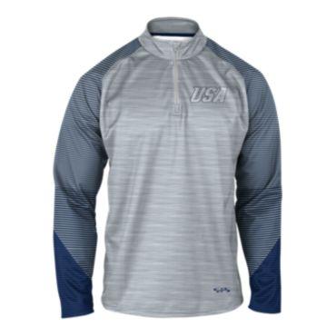 Men's USA INK Quarter Zip Pullover 3007