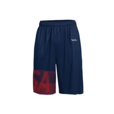 Men's USA Spirit INK Basketball Shorts