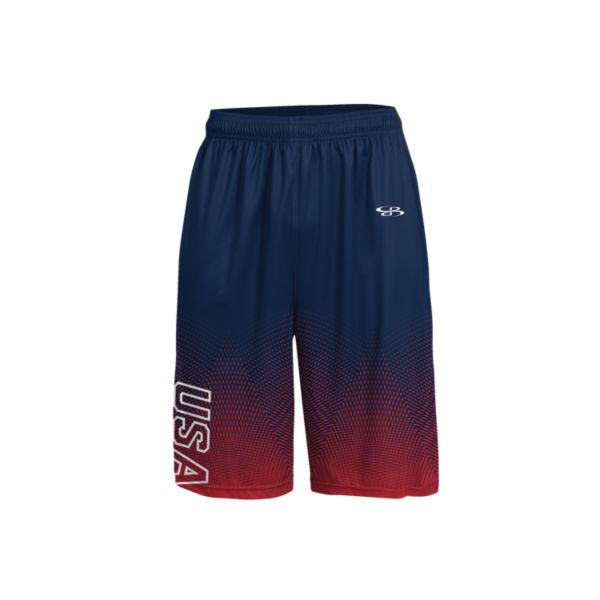 Men's USA Patriot INK Basketball Shorts