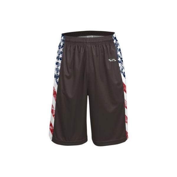 Men's USA Flag Glory INK Basketball Shorts