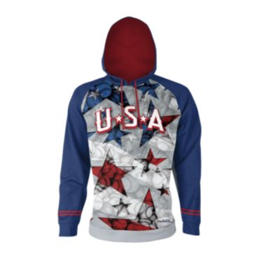 Men's USA Stars & Stitches Fleece Hoodie