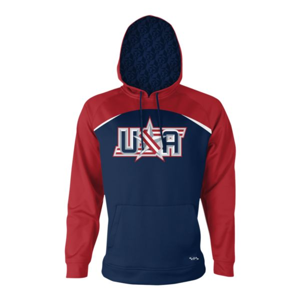 Men's USA INK Fleece Hoodie 3004