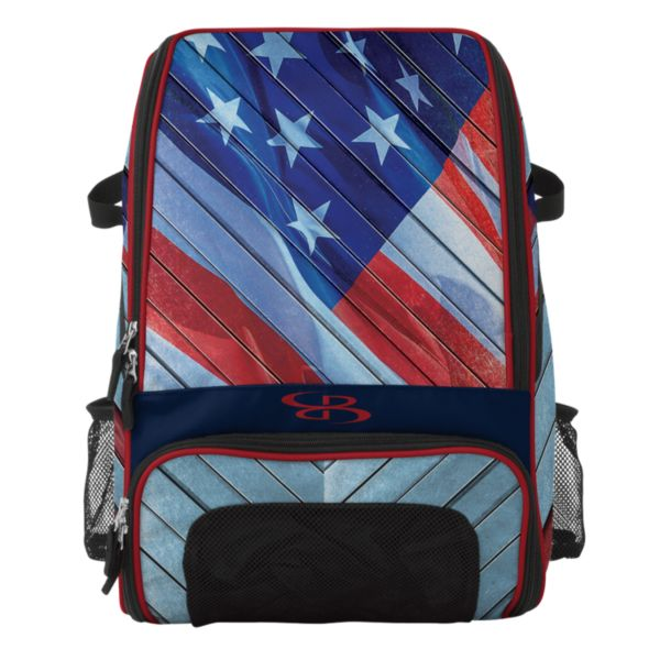 Recruit Bat Bag INK USA Navy/Red