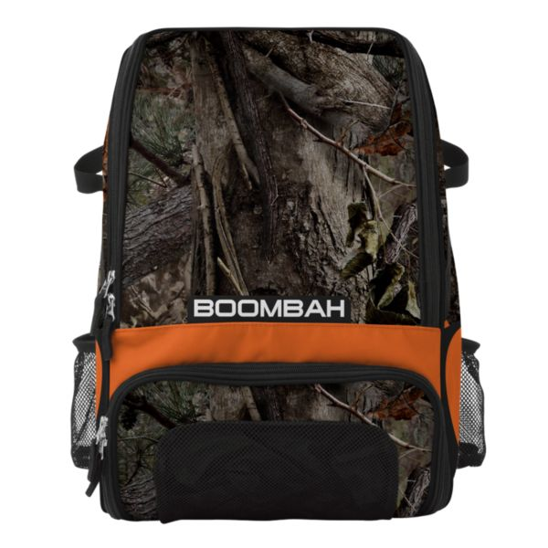 Recruit Bat Bag INK Real Camo Black/Fluorescent Orange