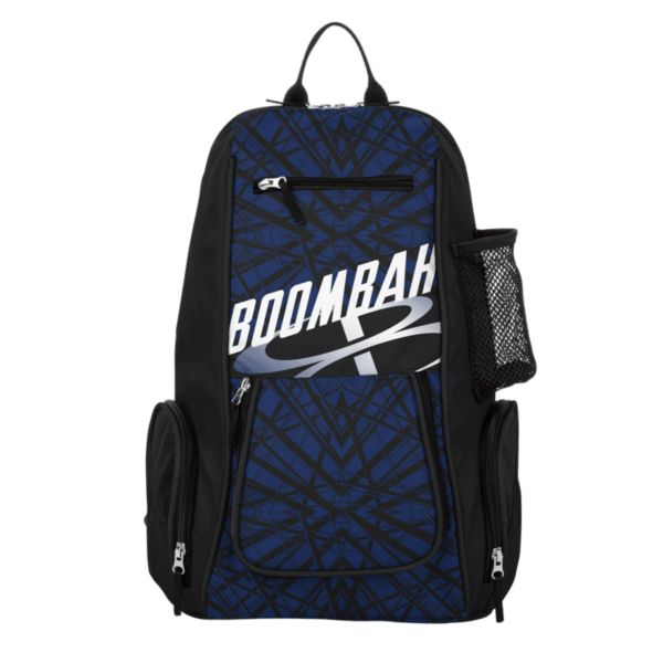 Spike Volleyball Backpack INK Shatter Black/Royal Blue