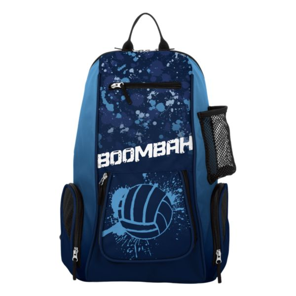 Spike Splatter Ball Volleyball Backpack