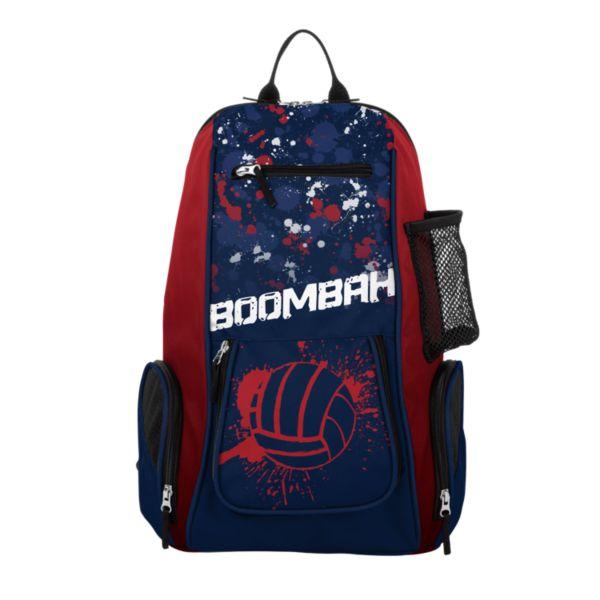 Spike Splatter Ball Volleyball Backpack