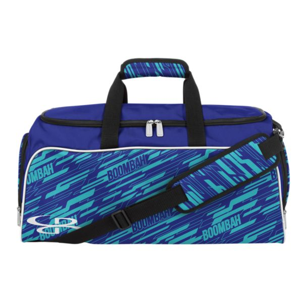 Medium Duffle Bag INK Cannon Cobalt/Aqua/White