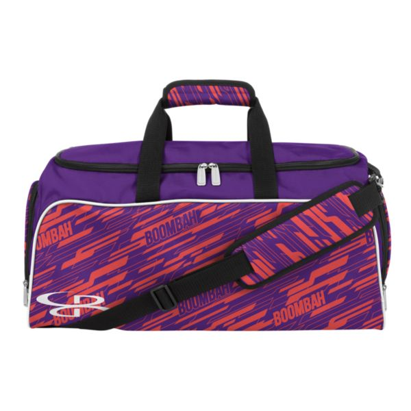 Medium Duffle Bag INK Cannon Violet/Hot Coral/White