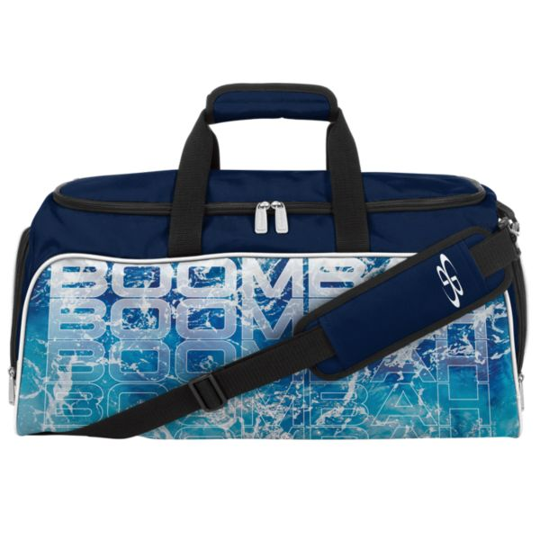 Medium Duffle Bag INK Streamline Navy/White
