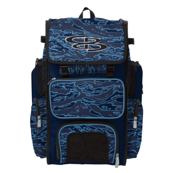 Superpack Bat Pack INK Tiger Camo Navy/Columbia Blue