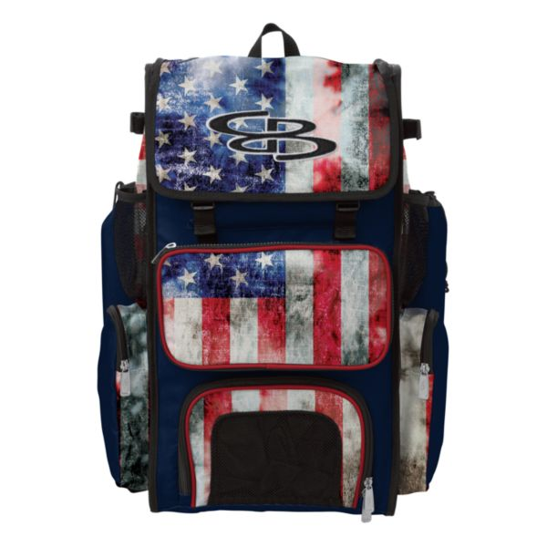 Superpack USA Old Glory Bat Bag Navy/Red/White