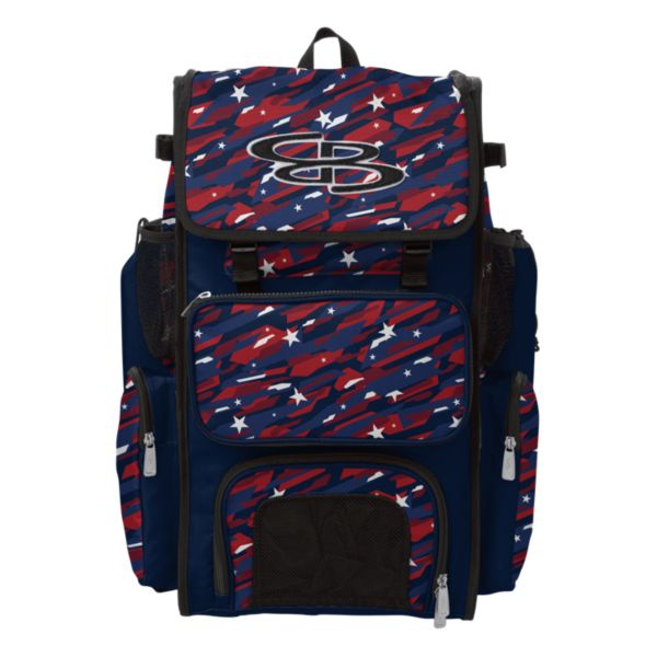 Superpack Bat Pack INK USA Navy/Red/White