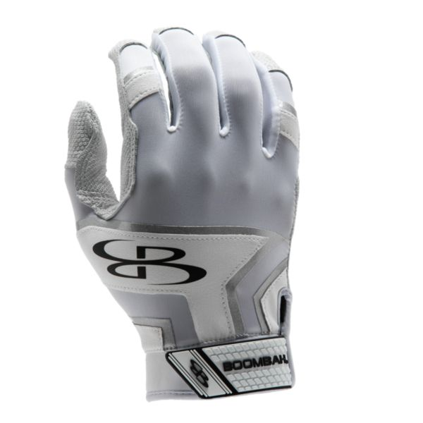 Adult LAZR Batting Glove White/White