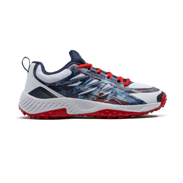 Men's Challenger Flag 1 Low Turf Shoes Navy/White/Red