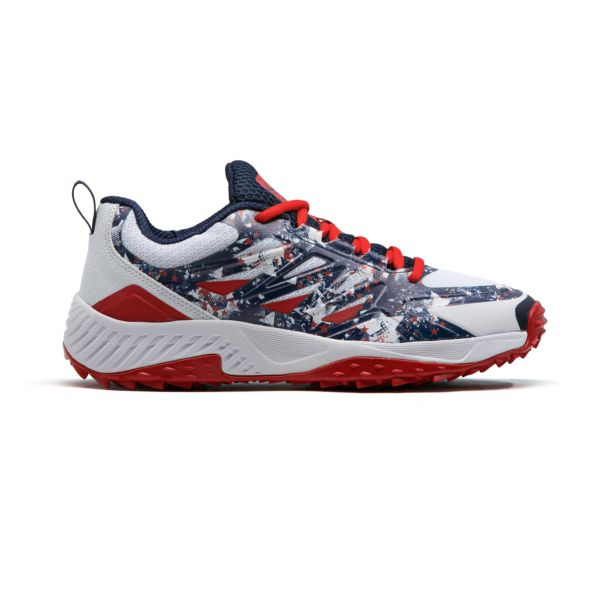 Men's Challenger Flag 2 Low Turf Shoes Navy/White/Red