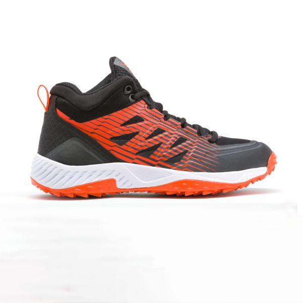Men's Challenger Mid Turf Shoes Black/Orange