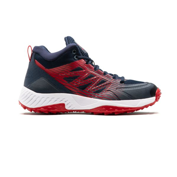 Men's Challenger Mid Turf Shoes Navy/Red